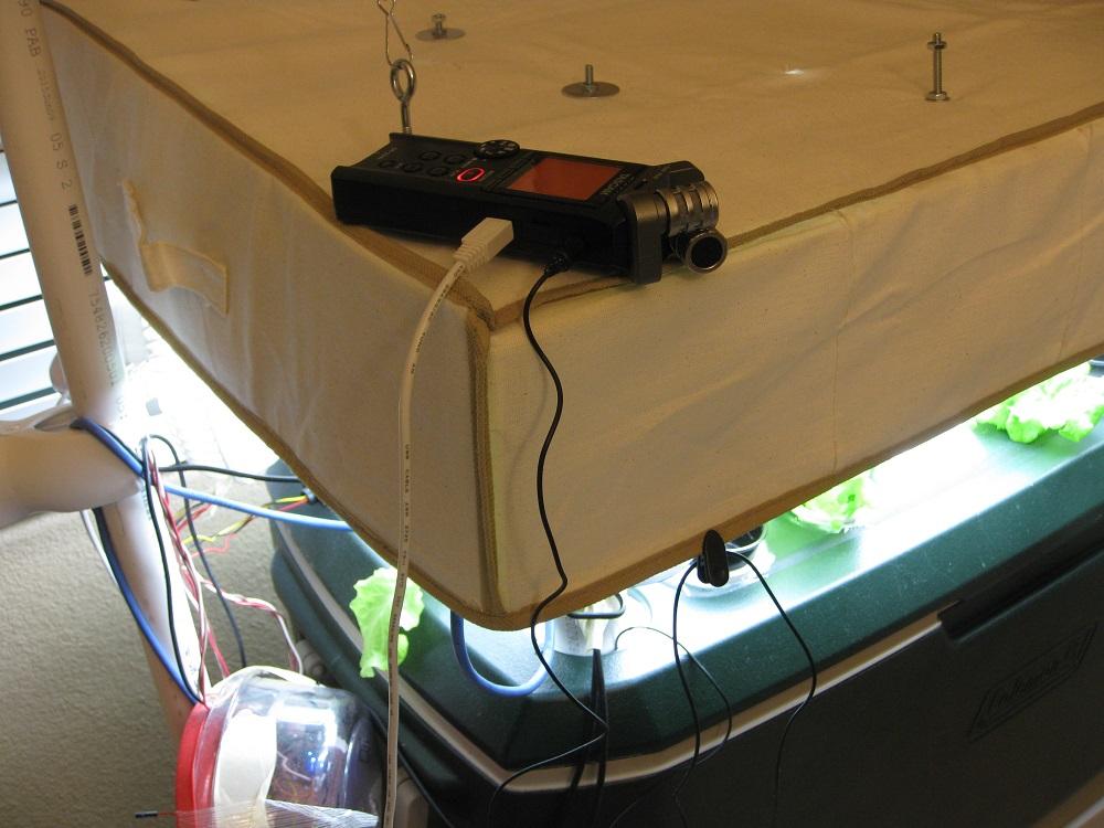 aeroponics misting nozzle monitoring